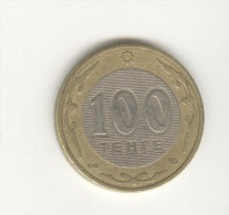 100 Tenge Kazakhstan Bimétallique / Bimetalic 2002 - Kazakhstan