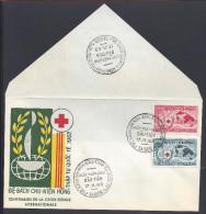 VIET-NAM - ENVELOPPE 1er JOUR -  CENTENAIRE DE LA CROIX ROUGE INTERNATIONALE - 17-11-63 - - Vietnam