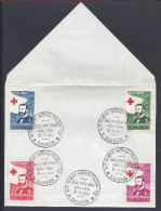 VIET-NAM - ENVELOPPE 1er JOUR -  JOURNEE MONDIALE DE LA CROIX ROUGE -  HENRI DUNANT - 8-5-60 - - Vietnam