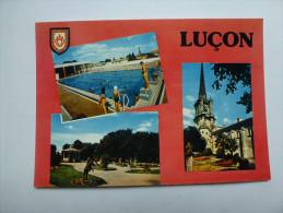 CP , Luçon , église - Lucon