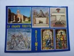 CP , Ville De Reims , La Chapelle Foujita - Reims