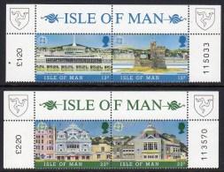 GB ISLE OF MAN IOM - 1987 EUROPA SET (4V) FINE MNH ** SG 344-347 - Isle Of Man
