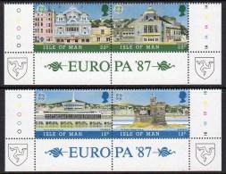 GB ISLE OF MAN IOM - 1987 EUROPA SET (4V) FINE MNH ** SG 344-347 - Europa-CEPT