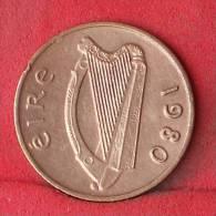 IRELAND  1  PENNY  1980   KM# 20  -    (Nº12043) - Irlande