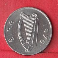 IRELAND  5  PENCE  1976   KM# 22  -    (Nº12046) - Irlande