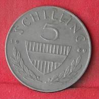 AUSTRIA  5  SCHILING  1969   KM# 2889a  -    (Nº12059) - Austria