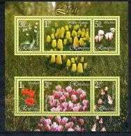 ROMANIA 2006 Tulips Block  MNH / **.  Michel Block 373 - 1948-.... Republics