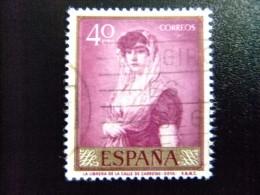 ESPAÑA ESPAGNE SPAIN 1958 Pintura De Goya Edifil Nº 1211 º Usado Yvert Nº 902 FU - 1931-Hoy: 2ª República - ... Juan Carlos I