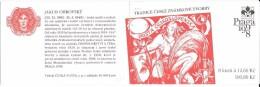 Czech Republic - Booklet.Carnet De 8 Timbres + 4 Coupons YT C 162 Tradition Timbre Gravé 1998 / Booklet Mi 52 - Czech Republic