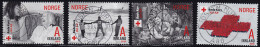 Norwegen  2015  Nr. 1869 - 72 Gestempelt Rotes Kreuz In Norge - Used Stamps