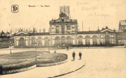BELGIQUE - FLANDRE ORIENTALE - RENAIX - RONSE - La Gare. - Renaix - Ronse