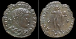 Constantine I AE Follis Sol Standing Left - 7. The Christian Empire (307 AD Tot 363 AD)