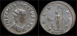 Tacitus Silvered Antoninianus Salus Standing Facing - 5. Der Soldatenkaiser (die Militärkrise) (235 / 284)