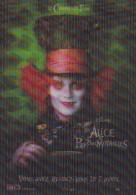 """ALICE AU PAYS DES MERVEILLES  """"CARTE EN RELIEF"""" ED. DISNEY (dil128)) - Disney"""