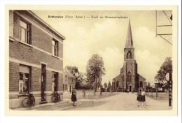 Achterolen (Prov. Antw.) - Kerk En Gemeenteplaats - Olen - Olen