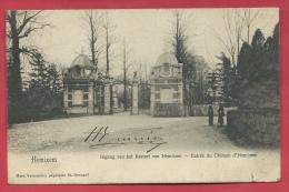 Hemiksen - Ingang Van Het Kasteel Van Hemixem - 1905 ( Verso Zien ) - Hemiksem