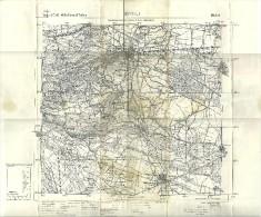 RIVOLI E Dintorni  Torino  Carta Topografica Istituto Geografico Militare  Cm 57x52 - Carte Topografiche