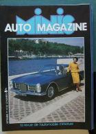 REVUE DE L'AUTOMOBILE MINIATURE - MINIS AUTOS MAGAZINE N°22 - Jouets Anciens