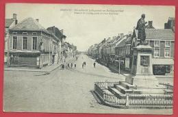 Eeklo - Standbeeld Ledeganck En Boelaarstraat - 1910 ( Verso Zien ) - Eeklo