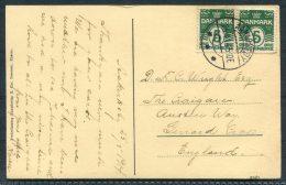 1914 Denmark Bornholm Postcard Aakirkeby - Covers & Documents