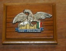 ITALIA , CREST ARALDICO 168° CORSO FEDELTA' DELL'ACCADEMIA MILITARE DI MODENA - Army
