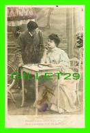 COUPLES - VOUS M'AVIEZ PROMIS UN BAISER... - A. N. PARIS - ÉCRITE EN 1907 - - Couples