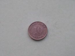 1914 J - 10 PFENNIG / KM 12 ( For Grade , Please See Photo ) ! - 10 Pfennig