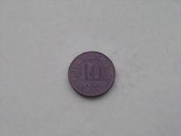 1918 - 10 PFENNIG / KM 26 ( For Grade , Please See Photo ) ! - [ 2] 1871-1918 : Empire Allemand