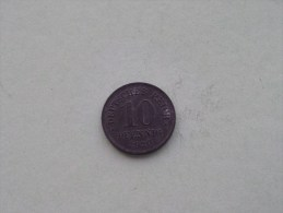 1920 - 10 PFENNIG / KM 26 ( For Grade , Please See Photo ) ! - 10 Pfennig