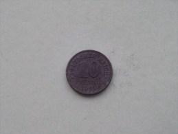 1921 - 10 PFENNIG / KM 26 ( For Grade , Please See Photo ) ! - [ 2] 1871-1918: Deutsches Kaiserreich