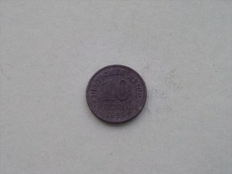 1921 - 10 PFENNIG / KM 26 ( For Grade , Please See Photo ) ! - [ 2] 1871-1918 : German Empire
