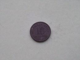 1921 - 10 PFENNIG / KM 26 ( For Grade , Please See Photo ) ! - 10 Pfennig