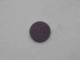 1921 - 10 PFENNIG / KM 26 ( For Grade , Please See Photo ) ! - [ 2] 1871-1918 : Empire Allemand