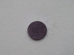 1922 - 10 PFENNIG / KM 26 ( For Grade , Please See Photo ) ! - 10 Pfennig