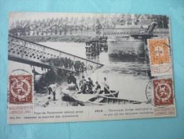 Termonde :pont Détruit Pour Retarder La Marche Des Allemands 1914 - België