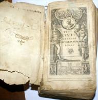 """ITALIA 1706 - """" T, LIVII PATAVINI HISTORIARUM AB URBE CONDITA LIBRI XLV"""" OPERA COMPLETA - Libri, Riviste, Fumetti"""