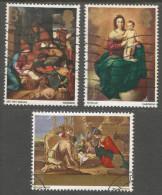 Great Britain. 1967 Christmas. Used  Complete Set. SG 756-758 - 1952-.... (Elizabeth II)