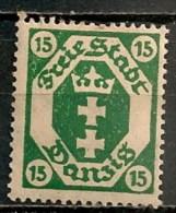 Timbres - Allemagne - Etranger - Dantzig - 1921 - 15 -