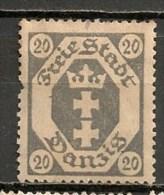 Timbres - Allemagne - Etranger - Dantzig - 1921 - 20 -