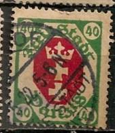 Timbres - Allemagne - Etranger - Dantzig - 1921 - 40 -