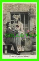 COUPLES - LA ROSE N'A PAS VOTRE CHARME ! - E. L. D. - ÉCRITE EN 1908 - BRILLANTS - - Couples