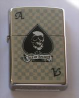 USA - ORIGINAL ZIPPO LIGHTER, PLAY CARDS ACE OF SPADE - Zippo