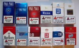 Empty Tobacco Boxes-12items #0416. - Boites à Tabac Vides