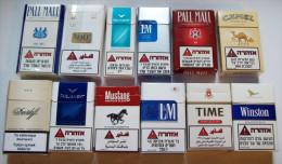 Empty Tobacco Boxes-12items #0641. - Empty Tobacco Boxes