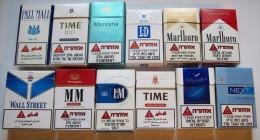 Empty Tobacco Boxes-12items #0643. - Empty Tobacco Boxes