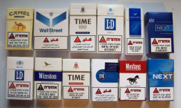 Empty Tobacco Boxes-12items #0976. - Empty Tobacco Boxes