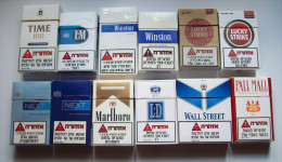 Empty Tobacco Boxes-12items #0407. - Empty Tobacco Boxes