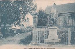 72 - CHALONNES SOUS LE LUDE   Le Monument - France