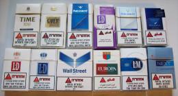 Empty Tobacco Boxes-12items #0640. - Empty Tobacco Boxes