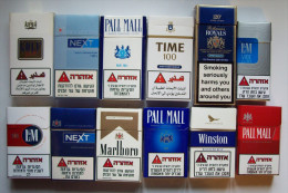 Empty Tobacco Boxes-12items #0413. - Empty Tobacco Boxes